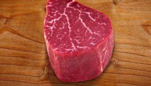 7x Beef Raw Wagyu tenderloin