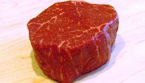 7x Beef Wagyu raw marbled filet