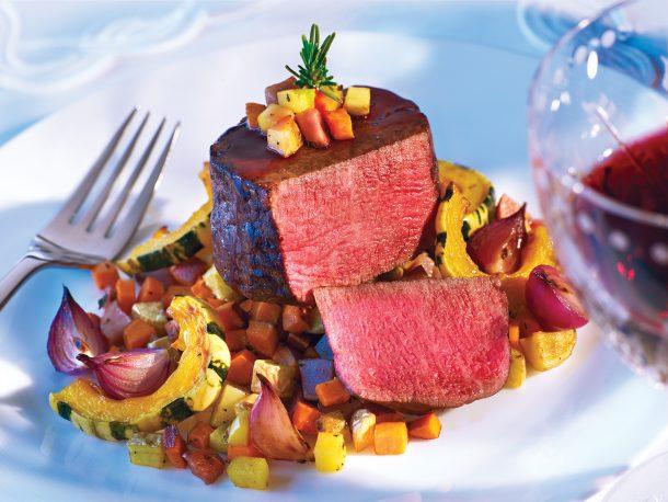 7x Beef cooked tenderloin Wagyu