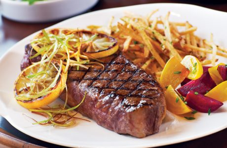 Amazing New York Strip Steak from 7X Beef