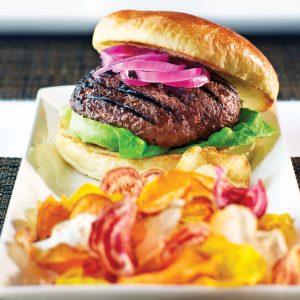 7xBeef wagyu beef burger