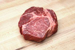 The 7X Wagyu chuck eye steak