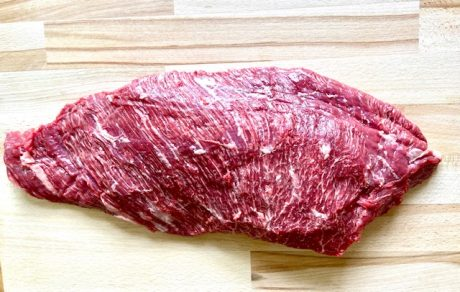 7X Bavette steak raw