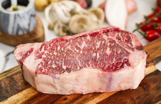 7X Beef Wagyu Bone-in Striploin Steak