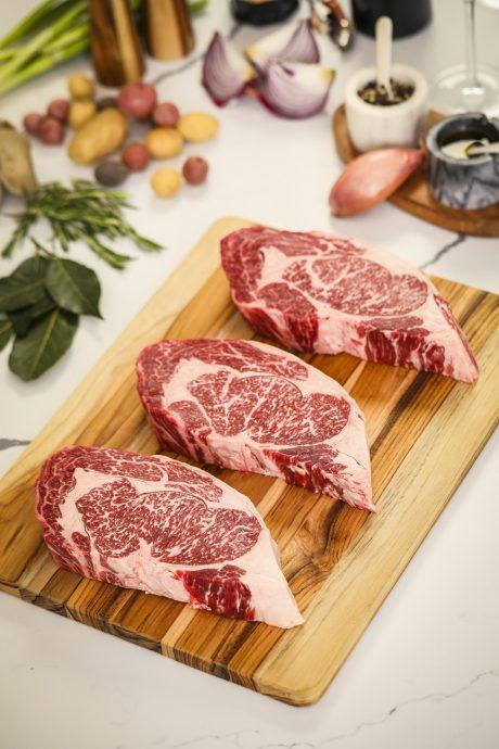 7X Beef Wagyu Ribeye Steaks