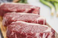 7X Beef Wagyu New York Strip Striploin Steaks