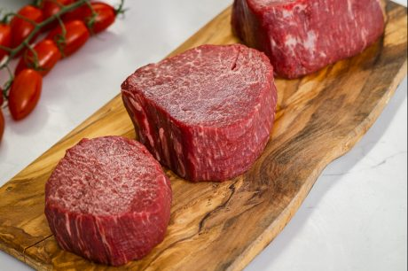7x Beef Wagyu Tenderloin Filets in Three Trim Sizes